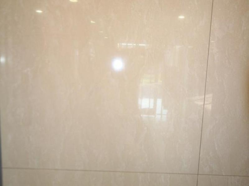 Gepolijst vloertegel 80x80 bella beige gepolijst tegels - Vinyl imitatie tegel ...